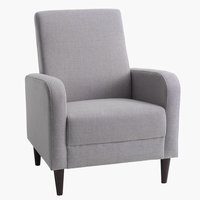 Armchair GEDVED light grey