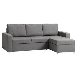 JYSK Slaapbank VILS chaise longue licht grijs