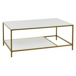 JYSK Salontafel PANDRUP 70x110 wit/goud