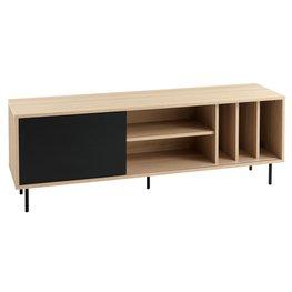 JYSK TV-meubel FARSUND eiken/zwart