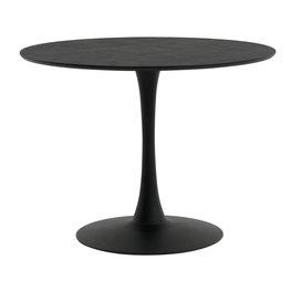 JYSK Eettafel RINGSTED Ø100 zwart