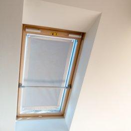 Image of JYSK Abdunkl.-Dachfensterrollo F06 Saugnapf