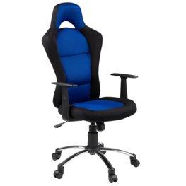 JYSK Bureaustoel SNERTINGE zwart blauw