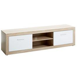 JYSK TV-meubel FAVRBO 2 deurs eiken/wit