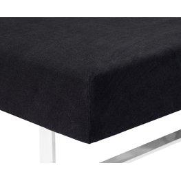 JYSK Hoeslaken badstof 90x200x40 zwart