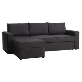 JYSK Slaapbank chaise longue MARIAGER d.grijs
