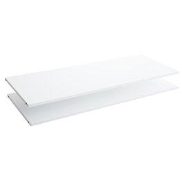 JYSK Planken ONSTED 123x46 2 stuks wit