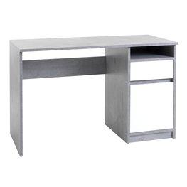 JYSK Bureau BILLUND 53x120 betonlook/wit