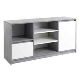 JYSK Dressoir BILLUND 2 deuren wit/beton